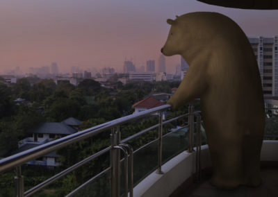 Balcony Bear